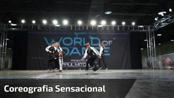Grupo De Dança Com Coreografia Sensacional, Vale A Pena Conferir!