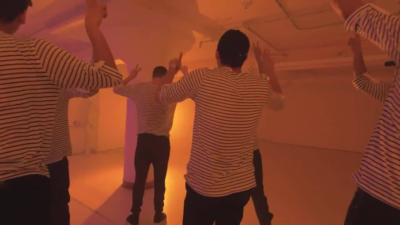 Grupo de dança olha só como estes rapazes mandam bem
