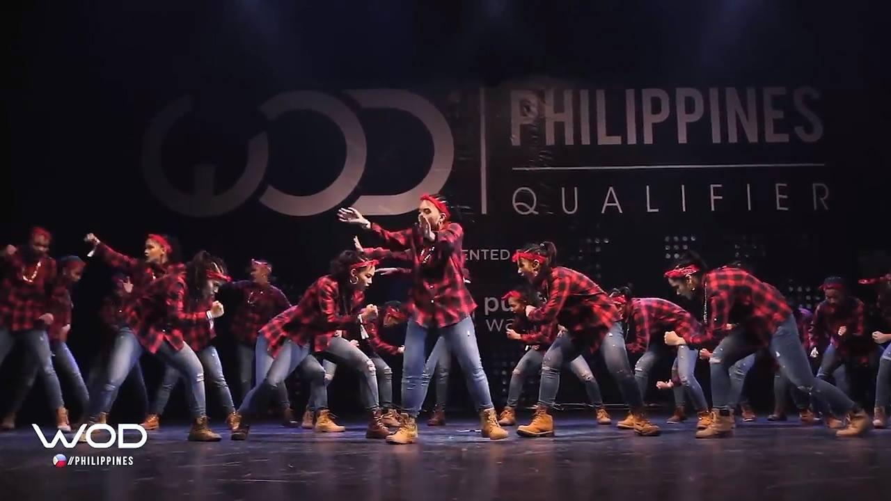 Grupo de dança que arrasa na apresentação