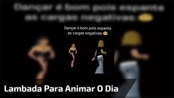 Lambada Em Computação Gráfica, Dançar Espanta O Mal, Vamos Dançar!