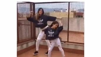 Mãe E Filha Dançando, Elas Mandam Muito Bem, Confira Vale A Pena!