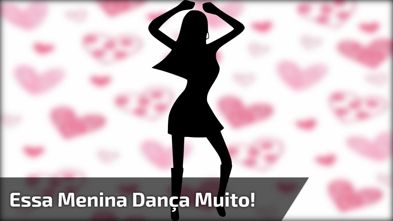Melhor dança de hoje - Essa menina dança muito, confira!