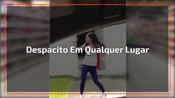 Menina É Viciada Em Dançar Despacito, Seja Onde Ela Estiver, Ela Dança!