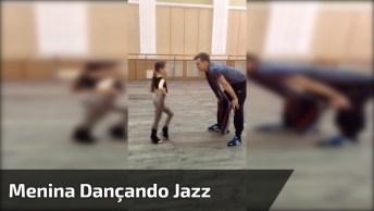 Menina Mandando Muito Bem No Jazz, Você Vai Pirar Na Dança Dela!