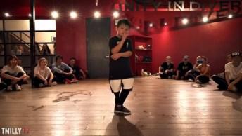 Menino De 7 Anos Arrasando Na Dança, Muito Talentoso, Confira!