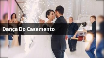 Noiva E Noivo Dançando Em Casamento, Olha Só Que Legal Esta Dança Tipica!