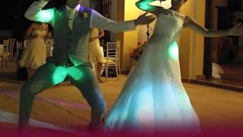 Noivos Dão Um Show De Dança Em Sua Festa De Casamento, Vale A Pena Conferir!