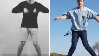 O Vídeo De Dança Mais Legal De Hoje, Ficou Show Essa Montagem!