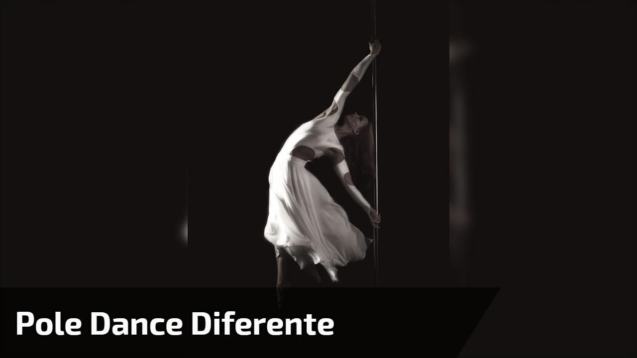 Pole dance diferente