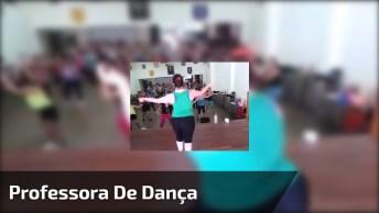 Professora De Dança Com Síndrome De Down, Mais Um Exemplo De Superação!