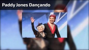 Senhora De 90 Anos Dançando, Confira Quanta Energia Ela Tem!