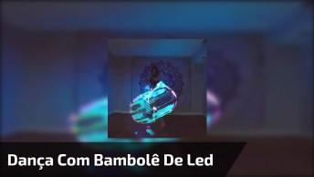 Vídeo De Dança Com Bambolê De Led, Compartilhe Com Os Amigos E Amigas!
