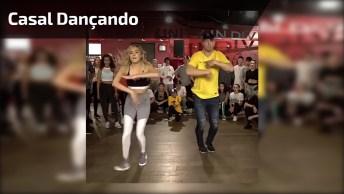 Vídeo De Dança Com Casal, Olha Só Que Legal A Forma Que Eles Dançam!