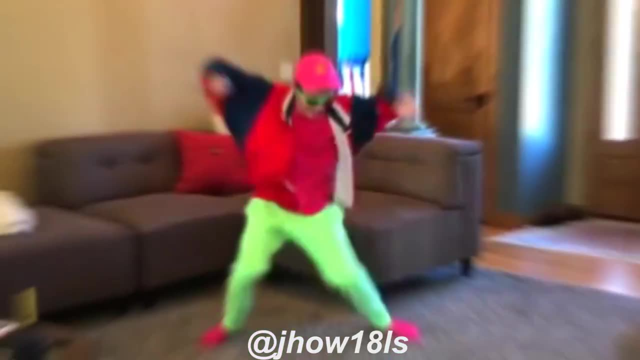 Video de dança engraçado