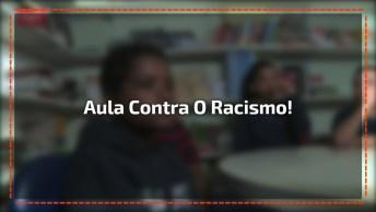 Gustavo, De 10 Anos, Irá Te Surpreender Com Aula De Cidadania Contra O Racismo!