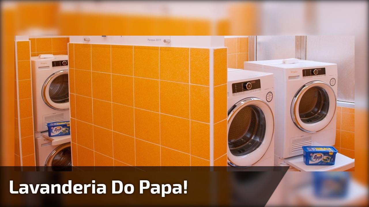 Papa Francisco surpreendendo mais uma vez, lavanderia do Papa, confira!