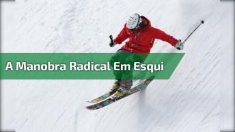 A Manobra Mais Radical Em Esqui, Você Vai Se Arrepiar!