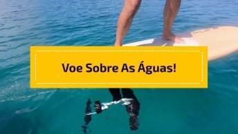 Esporte Que Permite 'Andar' Nas Águas, Veja Que Incrível!