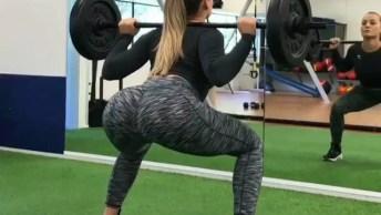 Exercícios Femininos De Academia Para Fortalecer Os Glúteos!