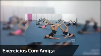 Exercícios Para Fazer Na Academia Com A Amiga, Agora O Projeto Fitness Vai. . .