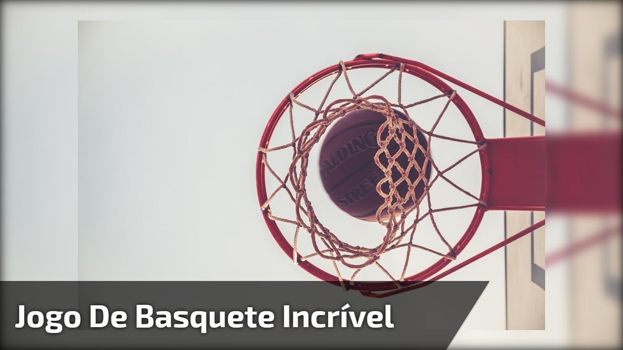 Jogo de basquete incrível