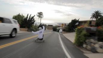 Foi Descer A Ladeira De Skate E Algo Inacreditável Aconteceu!