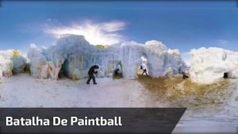 Batalha De Paintball Para Geek Nenhum Botar Defeito, Olha Só A Produção!
