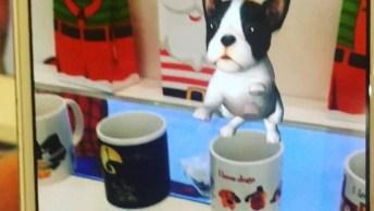 Canecas Com Animações Virtuais, O Gatinho É Muito Fofo, Confira!