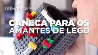 Canecas Para Os Amantes De Lego, Super Criativo, Confira E Compartilhe!