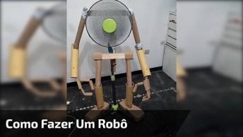 Como Fazer Um Robô Usando Seu Ventilador, Quanta Criatividade!
