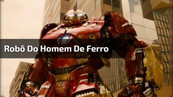 Gente Passada Com Esta Fantasia De Homem De Ferro, Linda Demais!