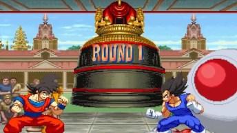 Goku Vs Street Fighter 2, Quem Será Que Ganha Essa Batalha???
