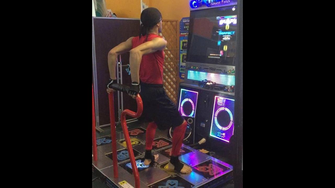 Jogo de dança em nível ultra mega hard