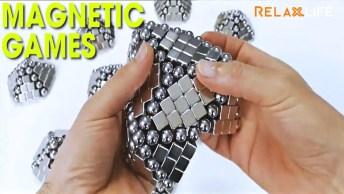 Jogos Magnéticos, Veja Que Incrível Essas Montagens, Muito Legal!
