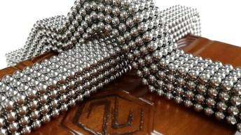 Mandala Magnética Com 1728 Bolinhas, Muito Interessante!