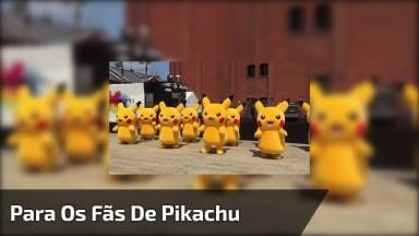 Para Os Fãs De Pikachu Que Lindinhos, São Muitos! Muito Legal!