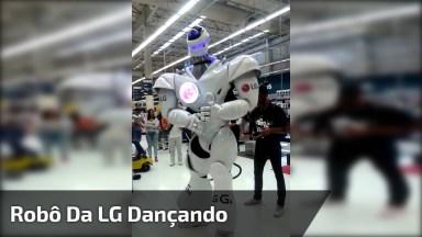 Robô Da Lg Dançando Música 'Metralhadora', Se Curtiu, Compartilhe!