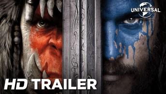 Trailer Do Filme Warcraft - O Primeiro Encontro De Dois Mundos!
