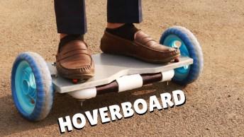 Tutorial De Como Fazer Seu Próprio Hoverboard Da Só Uma Olhada Que Fera!