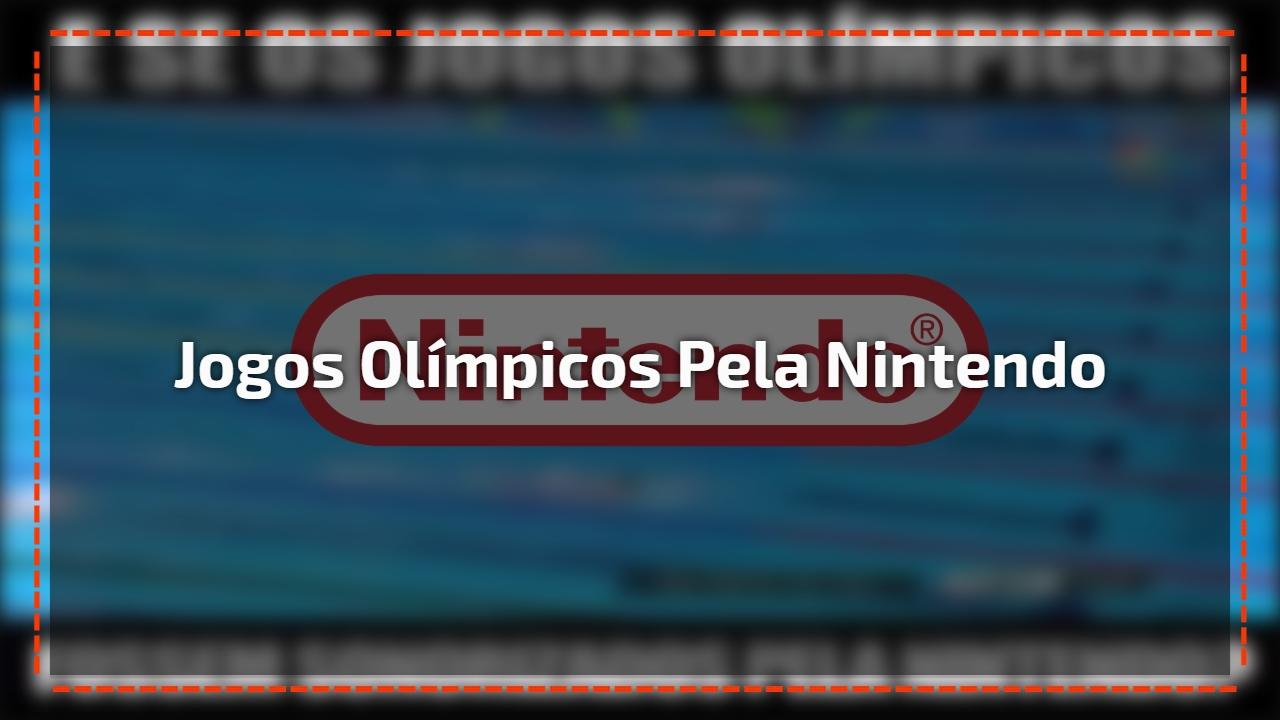 Veja como seria se os jogos Olímpicos fossem sonorizados pela Nintendo!
