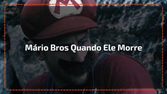 Veja Para Onde O Mário Bros Vai Quando Ele Morre No Jogo, Muito Bom!