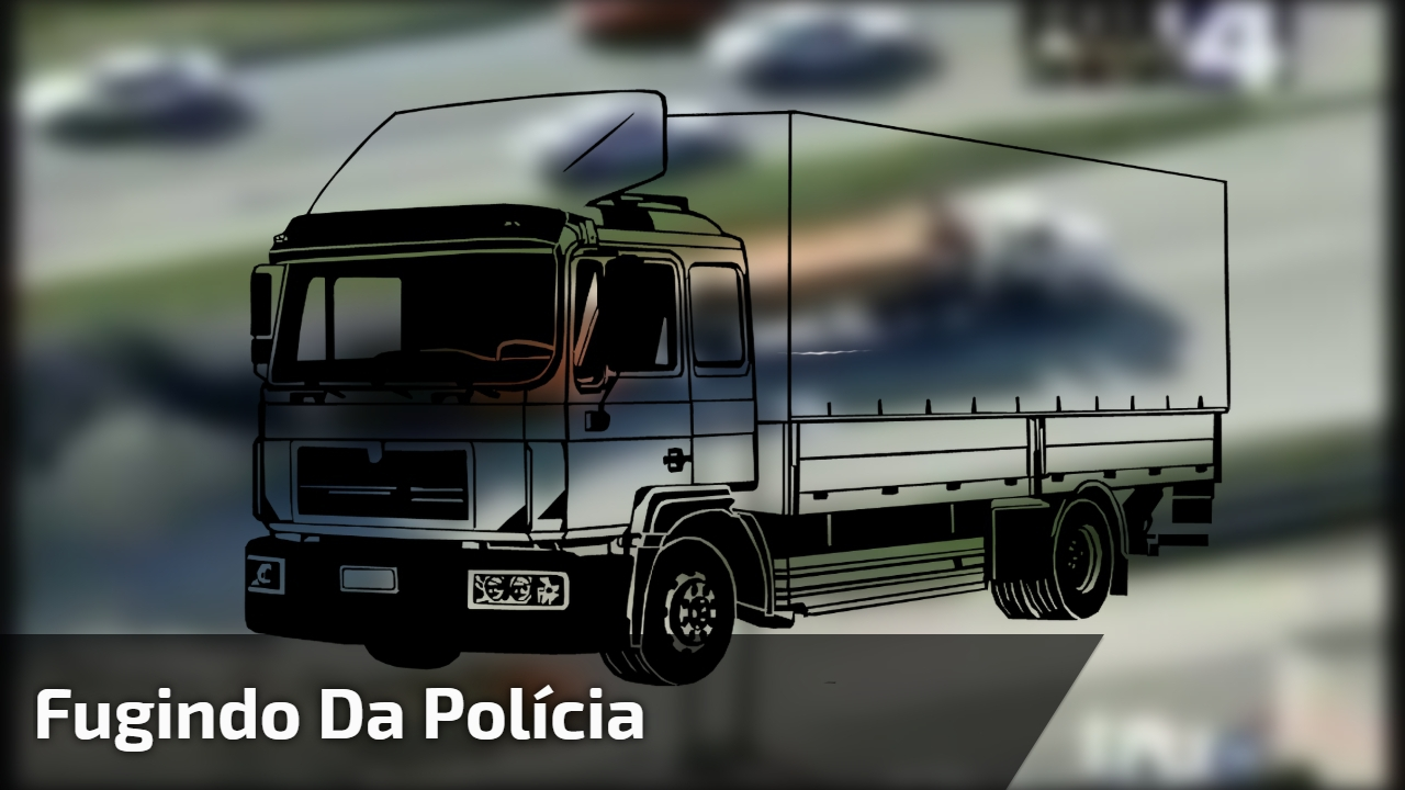 Fugindo da polícia