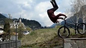 Coisas Impressionantes Que Fazem Em Cima De Uma Bicicleta!