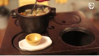 Cozinhando Em Uma Mini Cozinha, Quanta Paciência E Criatividade!