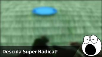 Descida Mais Radical Do Mundo, Você Vai Se Impressionar Com A Velocidade Hahaha!