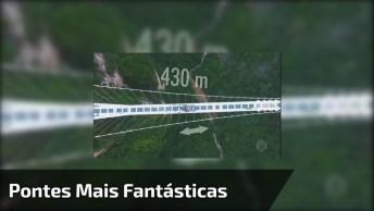 'Domingo Espetacular' Mostra As Pontes Mais Fantásticas Do Mundo!