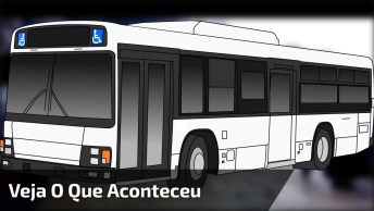 Este Vídeo É Impressionante! Veja O Que Aconteceu Com Este Ônibus!