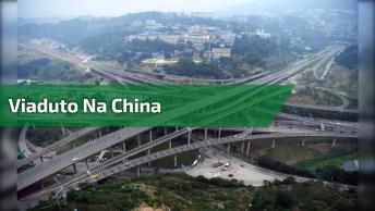 Estrada Emprisionante Na China, Ela Parece Ter Saído De Um Filme De Ficção!