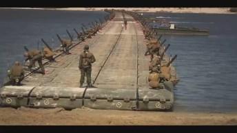 Grupo Militares Montam Uma Ponte De Uma Maneira Bem Impressionante. . .