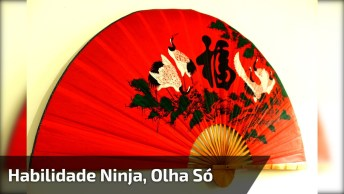 Habilidade Ninja, Olha Só As Coisas Que Este Cara Faz, Impressionante!